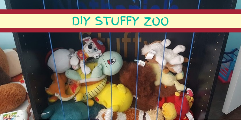How to build a stuffed animal zoo