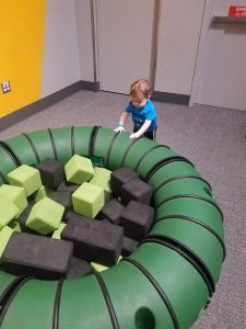 Baby play at Orlando Science Center