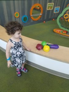Toddler play at the Orlando Science Center